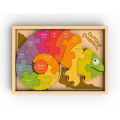 Counting Chameleon Bi-Lingual Puzzle